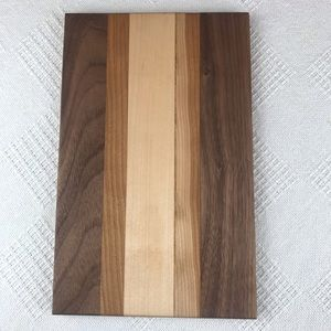 Handcrafted Multicolor Wooden Mini Cutting Board